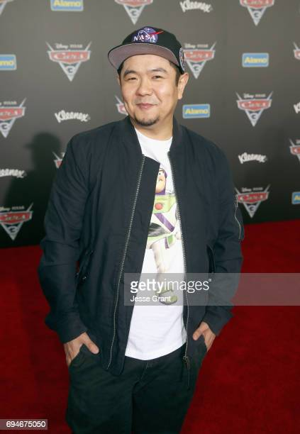 """Actor Eric Bauza poses at the World Premiere of Disney/Pixar's """"Cars 3' at the Anaheim Convention Center on June 10 2017 in Anaheim California"""