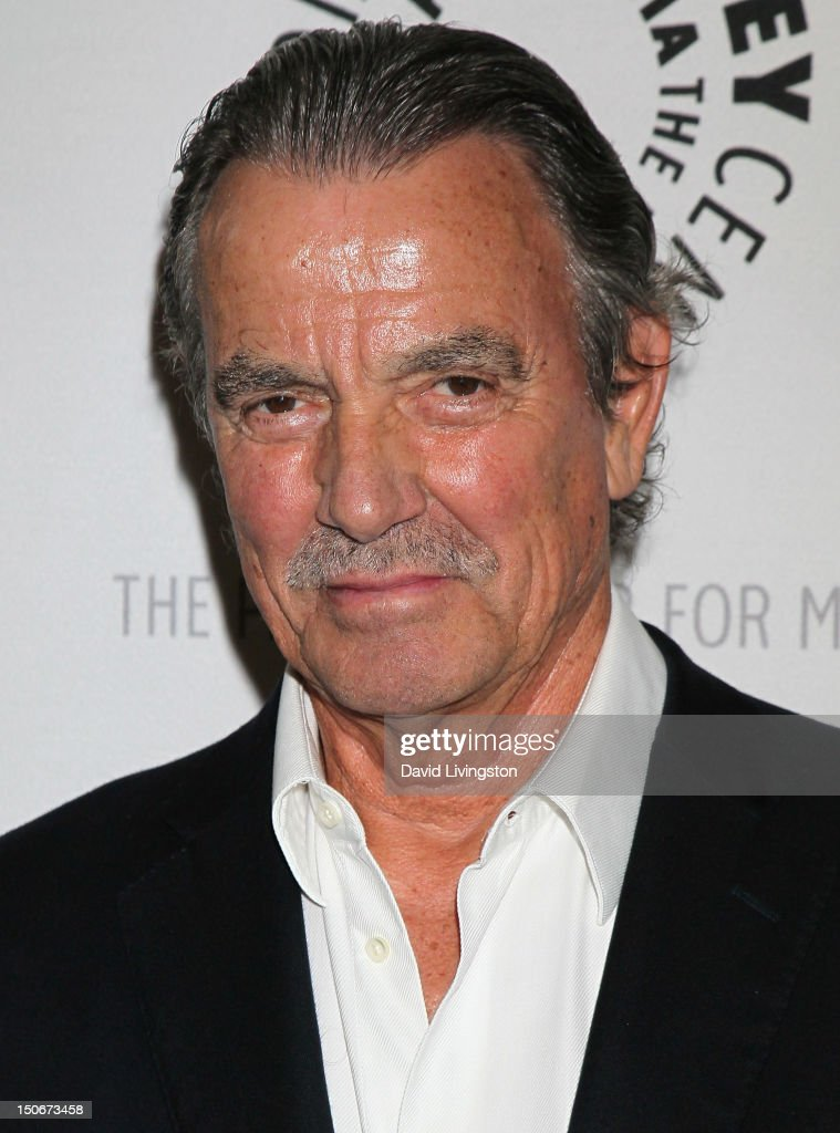 Actor Eric Braeden attends The Paley Center for Media presentation of 'The Young and the Restless: Celebrating 10,000 Episodes' at The Paley Center for Media on August 23, 2012 in Beverly Hills, California.