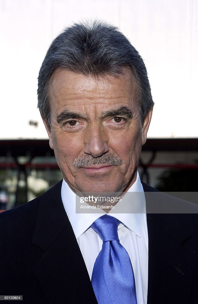 Actor Eric Braeden celebrates his 25th anniversary playing legendary character Victor Newman on 'The Young and The Restless' at a special ceremony on February 1, 2005 at CBS Television City in Los Angeles, California.
