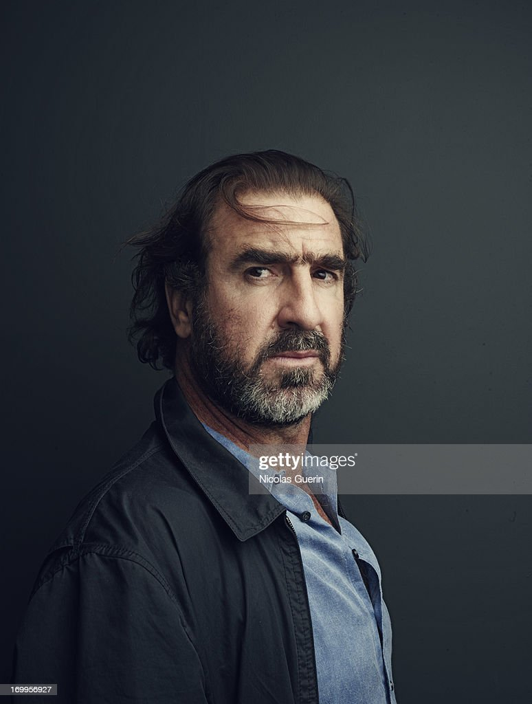 Actor Eric Cantona is photographed for Self Assignment on May 20, 2013 in Cannes, France.