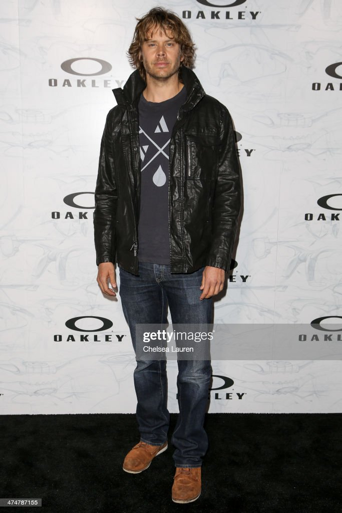 Actor <a gi-track='captionPersonalityLinkClicked' href=/galleries/search?phrase=Eric+Christian+Olsen&family=editorial&specificpeople=549583 ng-click='$event.stopPropagation()'>Eric Christian Olsen</a> arrives at Oakley's Disruptive by Design at Red Studios on February 24, 2014 in Los Angeles, California.