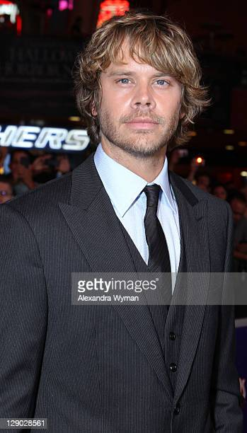 Actor Eric Christian Olsen arrives at 'The Thing' Los Angeles Premiere held at The AMC Universal City Walk on October 10 2011 in Universal City...