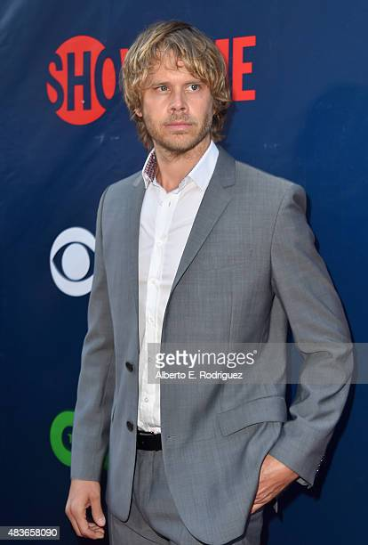 Actor Eric Christian Olsen attends CBS' 2015 Summer TCA party at the Pacific Design Center on August 10 2015 in West Hollywood California