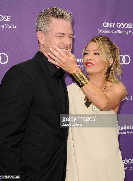 Actor Eric Dane and actress Rebecca Gayheart attend the 12th annual Chrysalis Butterfly Ball on June 8 2013 in Los Angeles California