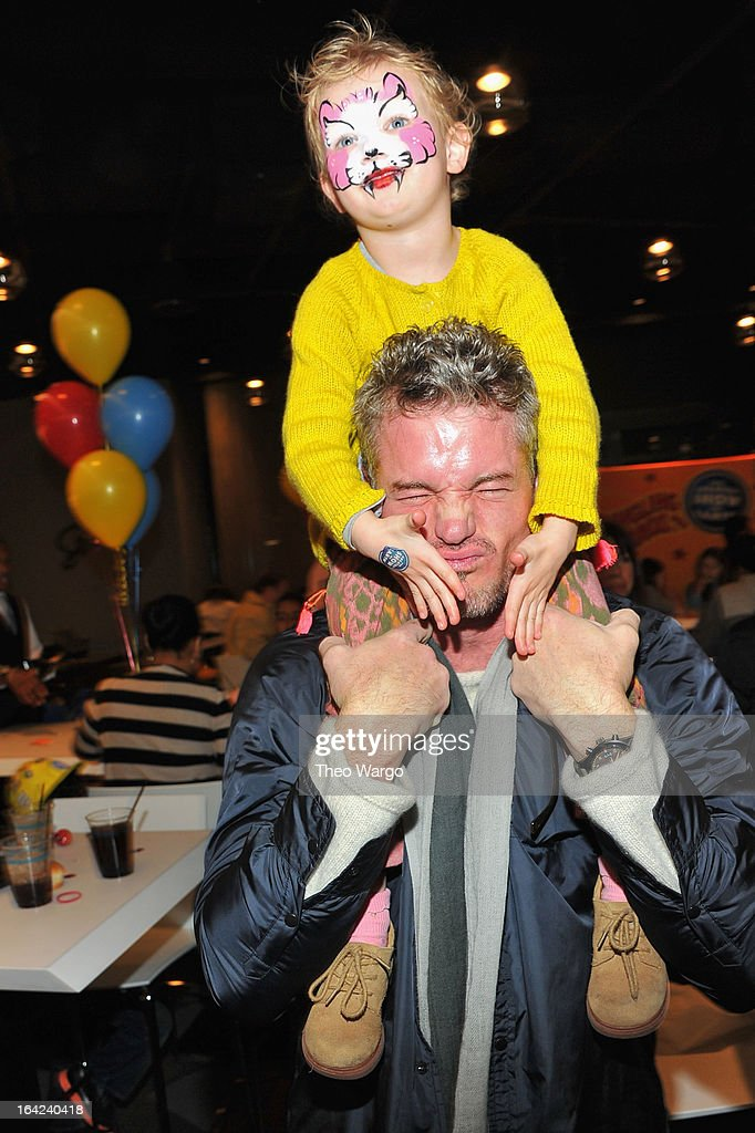 Actor <a gi-track='captionPersonalityLinkClicked' href=/galleries/search?phrase=Eric+Dane&family=editorial&specificpeople=707708 ng-click='$event.stopPropagation()'>Eric Dane</a> and Georgia Dane attend Ringling Bros. And Barnum & Bailey Present Built To Amaze! on March 21, 2013 in New York City.