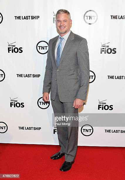 Actor Eric Dane arrives at the TNT The Last Ship Washington DC Screening at The Newseum on June 12 2015 in Washington DC
