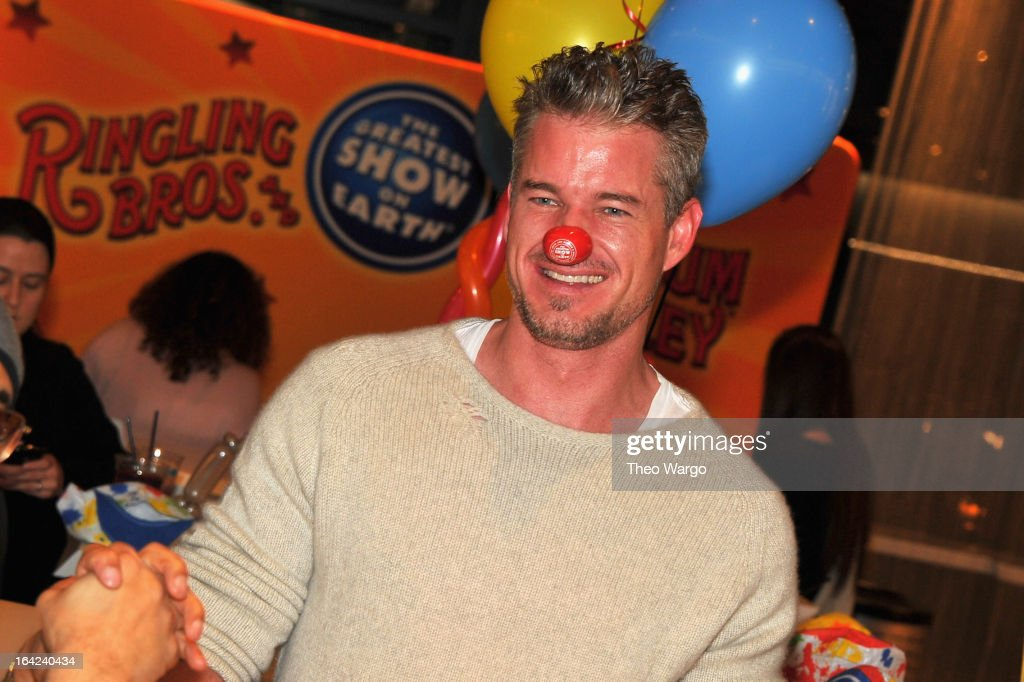 Actor <a gi-track='captionPersonalityLinkClicked' href=/galleries/search?phrase=Eric+Dane&family=editorial&specificpeople=707708 ng-click='$event.stopPropagation()'>Eric Dane</a> attends Ringling Bros. And Barnum & Bailey Present Built To Amaze! on March 21, 2013 in New York City.