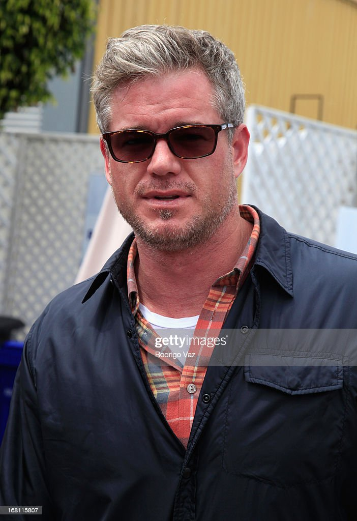 Actor <a gi-track='captionPersonalityLinkClicked' href=/galleries/search?phrase=Eric+Dane&family=editorial&specificpeople=707708 ng-click='$event.stopPropagation()'>Eric Dane</a> attends the Pregnancy Awareness Month 2013 Kick-Off Event 'Celebrating Dad's Role In Pregnancy!' at Bergamot Station on May 5, 2013 in Santa Monica, California.