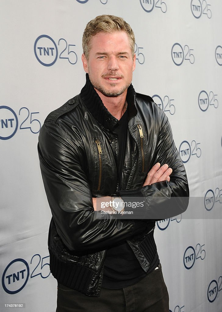Actor <a gi-track='captionPersonalityLinkClicked' href=/galleries/search?phrase=Eric+Dane&family=editorial&specificpeople=707708 ng-click='$event.stopPropagation()'>Eric Dane</a> attends TNT 25TH Anniversary Party during Turner Broadcasting's 2013 TCA Summer Tour at The Beverly Hilton Hotel on July 24, 2013 in Beverly Hills, California.
