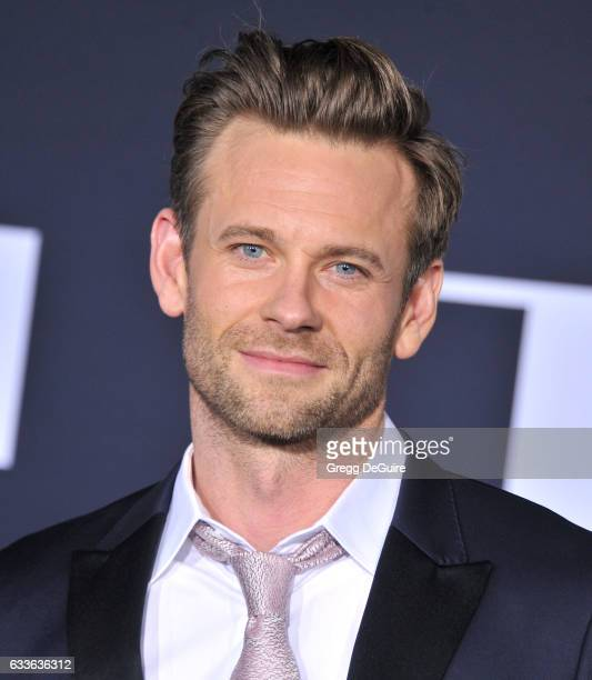 Actor Eric Johnson arrives at the premiere of Universal Pictures' 'Fifty Shades Darker' at The Theatre at Ace Hotel on February 2 2017 in Los Angeles...