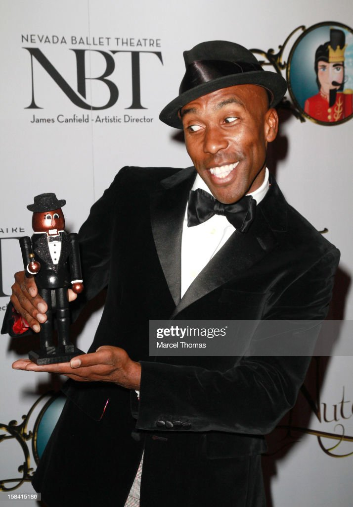 Actor Eric Jordan Young attends the Nevada Ballet Theatre's Production of 'The Nutcracker' opening night performance at the Smith Center on December...