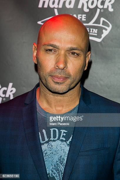 Actor Eric Judor attends 'Hard Rock Cafe Paris' 25th anniversary at Hard Rock Cafe on November 16 2016 in Paris France
