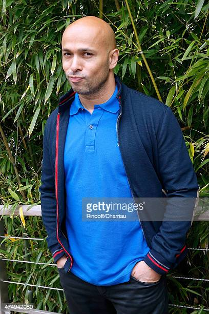 Actor Eric Judor attends the 2015 Roland Garros French Tennis Open Day Five on May 28 2015 in Paris France