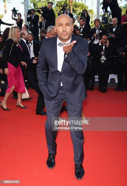 Actor Eric Judor attends the Premiere of 'Le Passe' during The 66th Annual Cannes Film Festival at Palais des Festivals on May 17 2013 in Cannes...