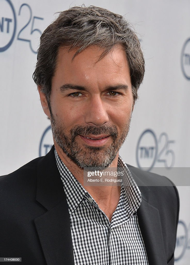 Actor <a gi-track='captionPersonalityLinkClicked' href=/galleries/search?phrase=Eric+McCormack&family=editorial&specificpeople=202857 ng-click='$event.stopPropagation()'>Eric McCormack</a> arrives to TNT's 25th Anniversary Party at The Beverly Hilton Hotel on July 24, 2013 in Beverly Hills, California.