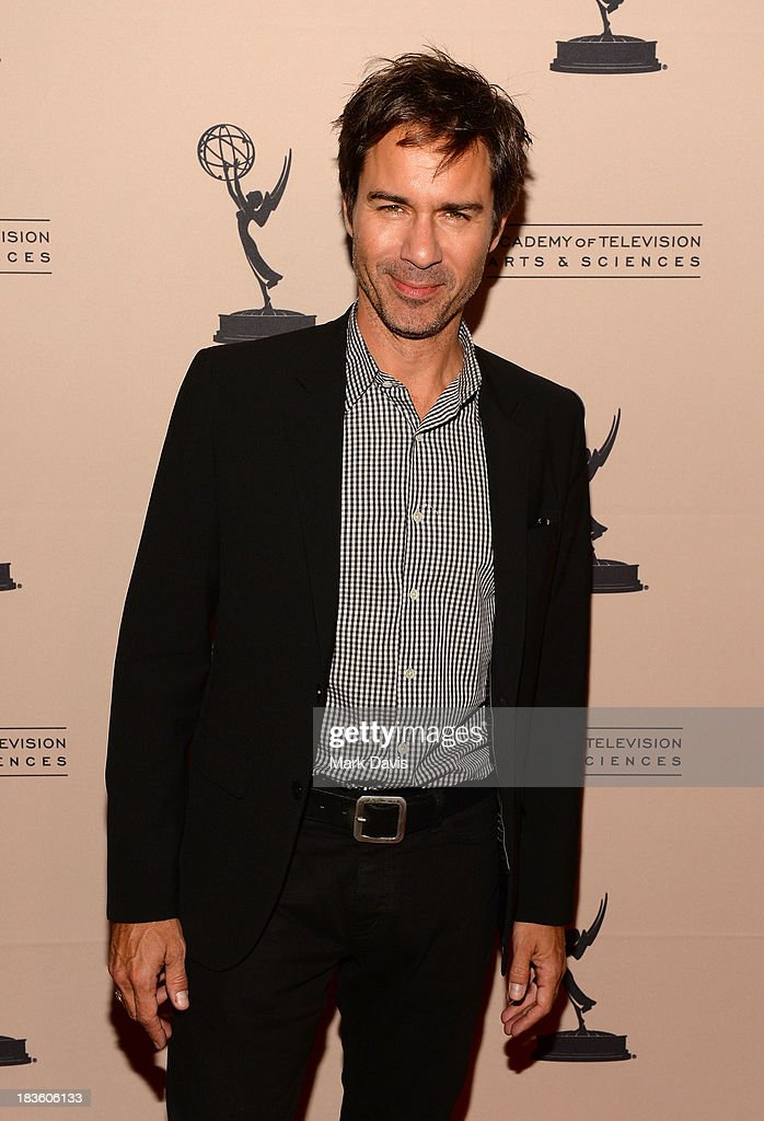 Actor <a gi-track='captionPersonalityLinkClicked' href=/galleries/search?phrase=Eric+McCormack&family=editorial&specificpeople=202857 ng-click='$event.stopPropagation()'>Eric McCormack</a> attends The Academy Of Television Arts & Sciences' Presents An Evening Honoring James Burrows held at the Academy of Television Arts & Sciences on October 7, 2013 in North Hollywood, California.