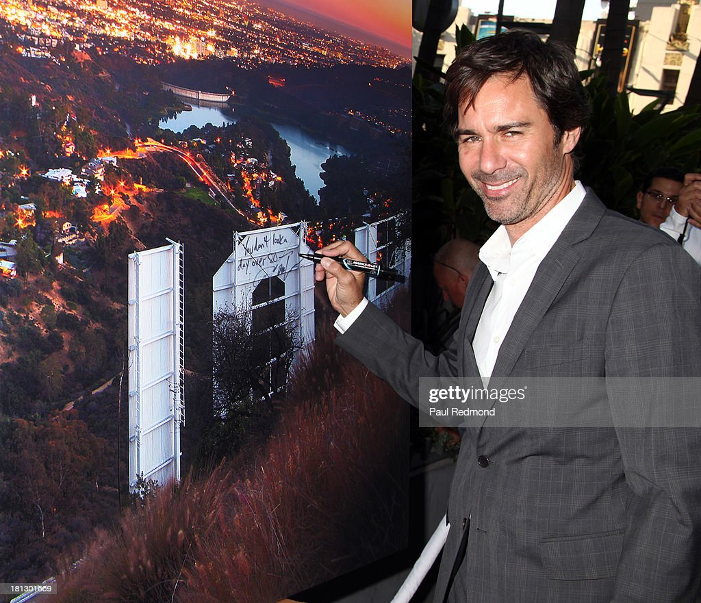 Actor <a gi-track='captionPersonalityLinkClicked' href=/galleries/search?phrase=Eric+McCormack&family=editorial&specificpeople=202857 ng-click='$event.stopPropagation()'>Eric McCormack</a> attends The Hollywood Chamber Of Commerce/The Hollywood Sign Trust's 'White Party' Celebrating 90th Anniversary Of The Hollywood Sign at Drai's Hollywood on September 19, 2013 in Hollywood, California.