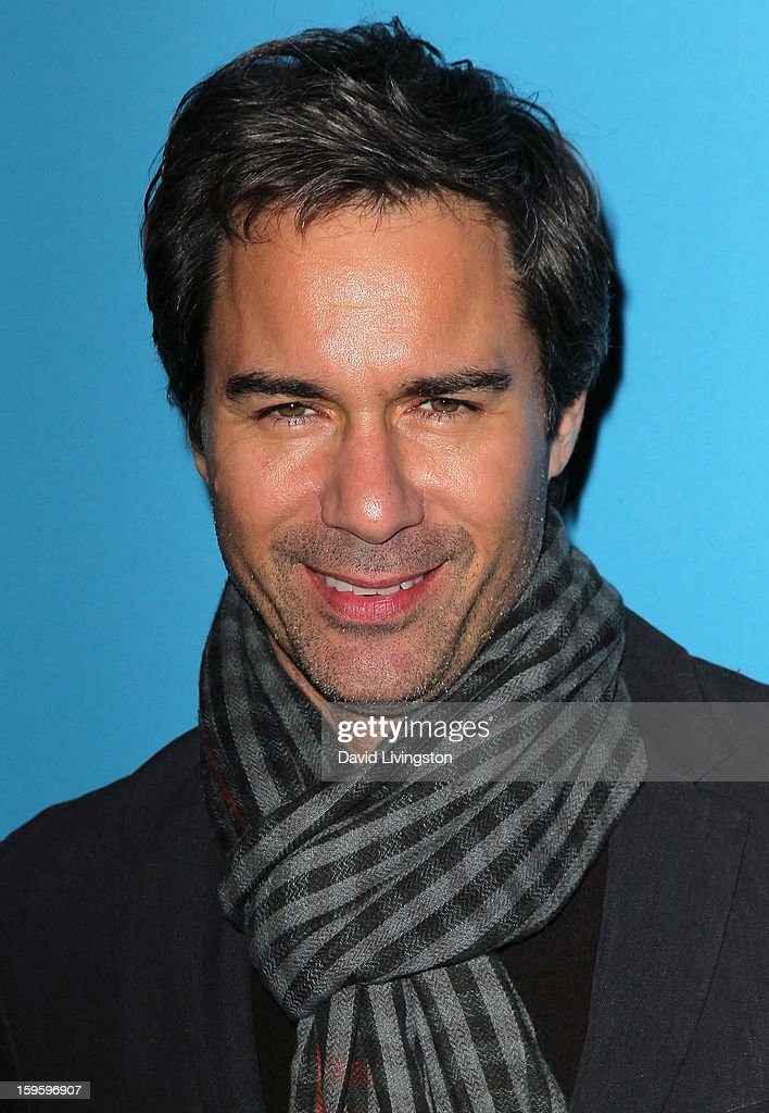 Actor <a gi-track='captionPersonalityLinkClicked' href=/galleries/search?phrase=Eric+McCormack&family=editorial&specificpeople=202857 ng-click='$event.stopPropagation()'>Eric McCormack</a> attends the opening night of 'Freud's Last Session' at The Broad Stage at the Santa Monica College Performing Arts Center on January 16, 2013 in Santa Monica, California.