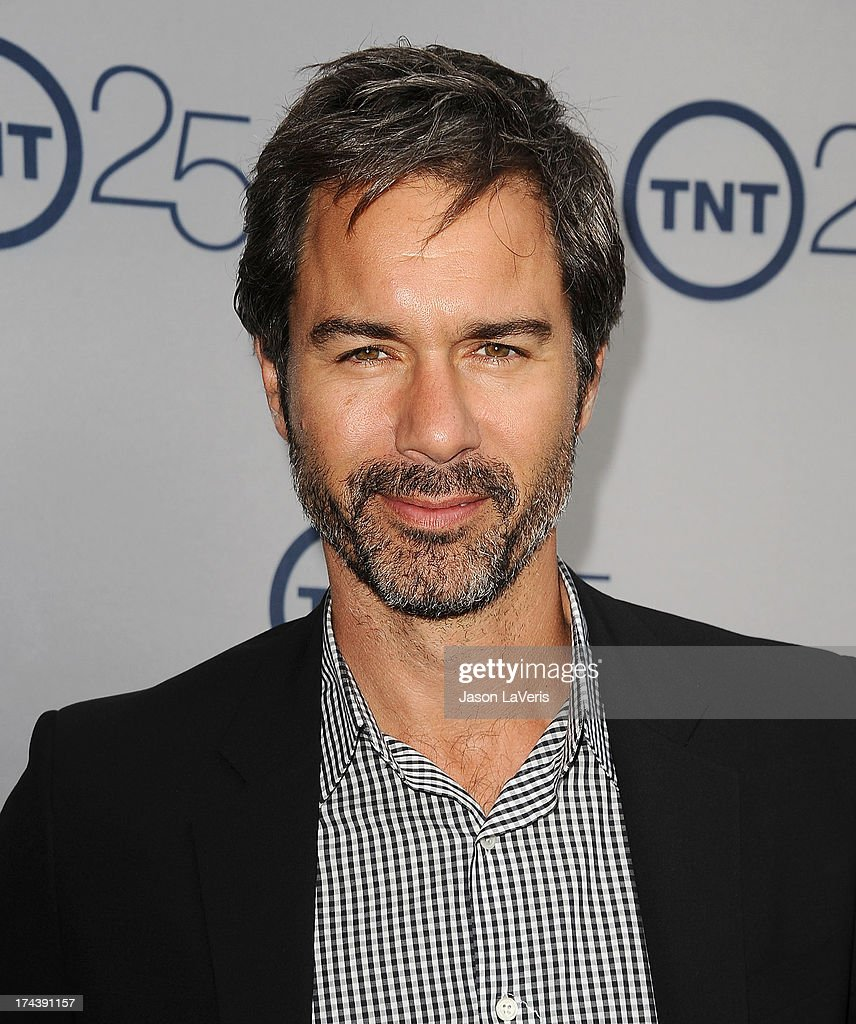 Actor <a gi-track='captionPersonalityLinkClicked' href=/galleries/search?phrase=Eric+McCormack&family=editorial&specificpeople=202857 ng-click='$event.stopPropagation()'>Eric McCormack</a> attends TNT's 25th anniversary party at The Beverly Hilton Hotel on July 24, 2013 in Beverly Hills, California.