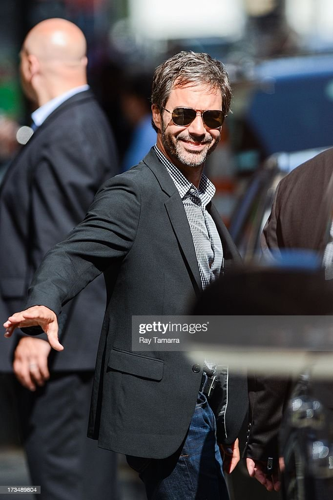 Actor Eric McCormack leaves the 'Good Morning America' taping at the ABC Times Square Studios on July 15, 2013 in New York City.