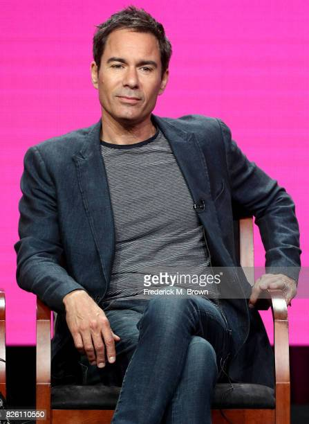 Actor Eric McCormack of 'Will Grace' speaks onstage during the NBCUniversal portion of the 2017 Summer Television Critics Association Press Tour at...