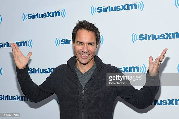 Actor Eric McCormack visits at SiriusXM Studio on December 14 2016 in New York City