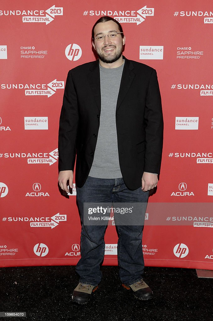Actor Eric Newton attends 'Computer Chess' Premiere - 2013 Sundance Film Festival at Library Center Theater on January 21, 2013 in Park City, Utah.