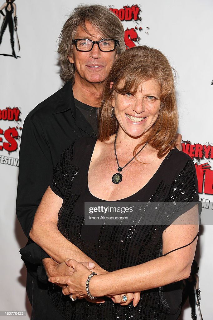 Actor <a gi-track='captionPersonalityLinkClicked' href=/galleries/search?phrase=Eric+Roberts&family=editorial&specificpeople=224670 ng-click='$event.stopPropagation()'>Eric Roberts</a> (L) and <a gi-track='captionPersonalityLinkClicked' href=/galleries/search?phrase=Eliza+Roberts&family=editorial&specificpeople=695830 ng-click='$event.stopPropagation()'>Eliza Roberts</a> attend the premiere of 'Kill Her, Not Me' during the closing night of the Everybody Dies Film Festival on September 15, 2013 in Brea, California.