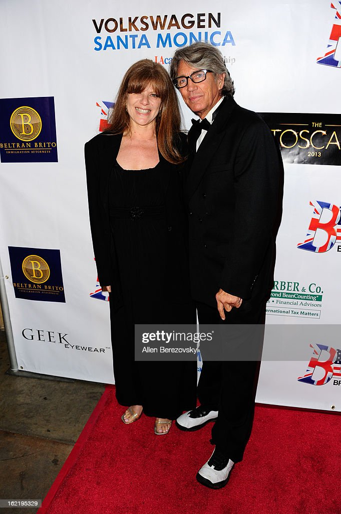 Actor <a gi-track='captionPersonalityLinkClicked' href=/galleries/search?phrase=Eric+Roberts&family=editorial&specificpeople=224670 ng-click='$event.stopPropagation()'>Eric Roberts</a> (R) and wife <a gi-track='captionPersonalityLinkClicked' href=/galleries/search?phrase=Eliza+Roberts&family=editorial&specificpeople=695830 ng-click='$event.stopPropagation()'>Eliza Roberts</a> attend the 6th Annual Toscar Awards at the Egyptian Theatre on February 19, 2013 in Hollywood, California.