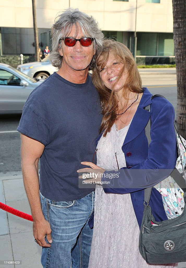 Actor Eric Roberts (L) and wife Eliza Roberts attend the premiere of 'Blue Jasmine' hosted by the AFI & Sony Picture Classics at the AMPAS Samuel Goldwyn Theater on July 24, 2013 in Beverly Hills, California.