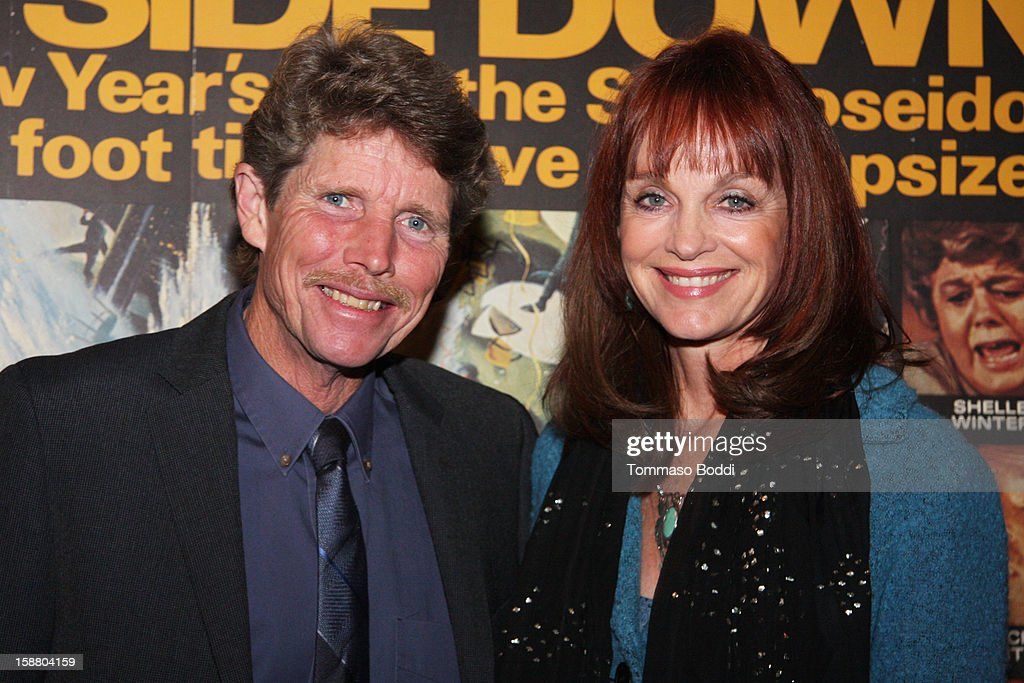 Actor Eric Shea (L) and Pamela Sue Martin attend the American Cinematheque's 40th Anniversary Screening of 'The Poseidon Adventure' held at American Cinematheque's Egyptian Theatre on December 29, 2012 in Hollywood, California.