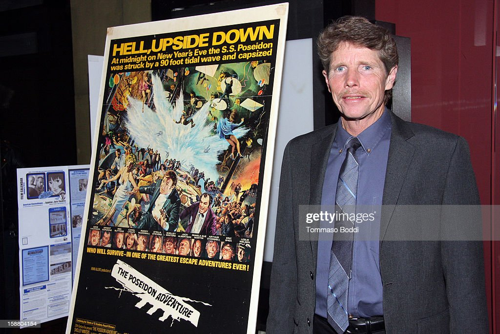 Actor Eric Shea attends the American Cinematheque's 40th Anniversary Screening of 'The Poseidon Adventure' held at American Cinematheque's Egyptian Theatre on December 29, 2012 in Hollywood, California.