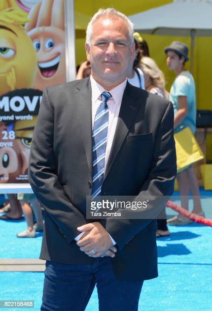 Actor Eric Siegel attends the premiere of Columbia Pictures and Sony Pictures Animation's 'The Emoji Movie' at Regency Village Theatre on July 23...