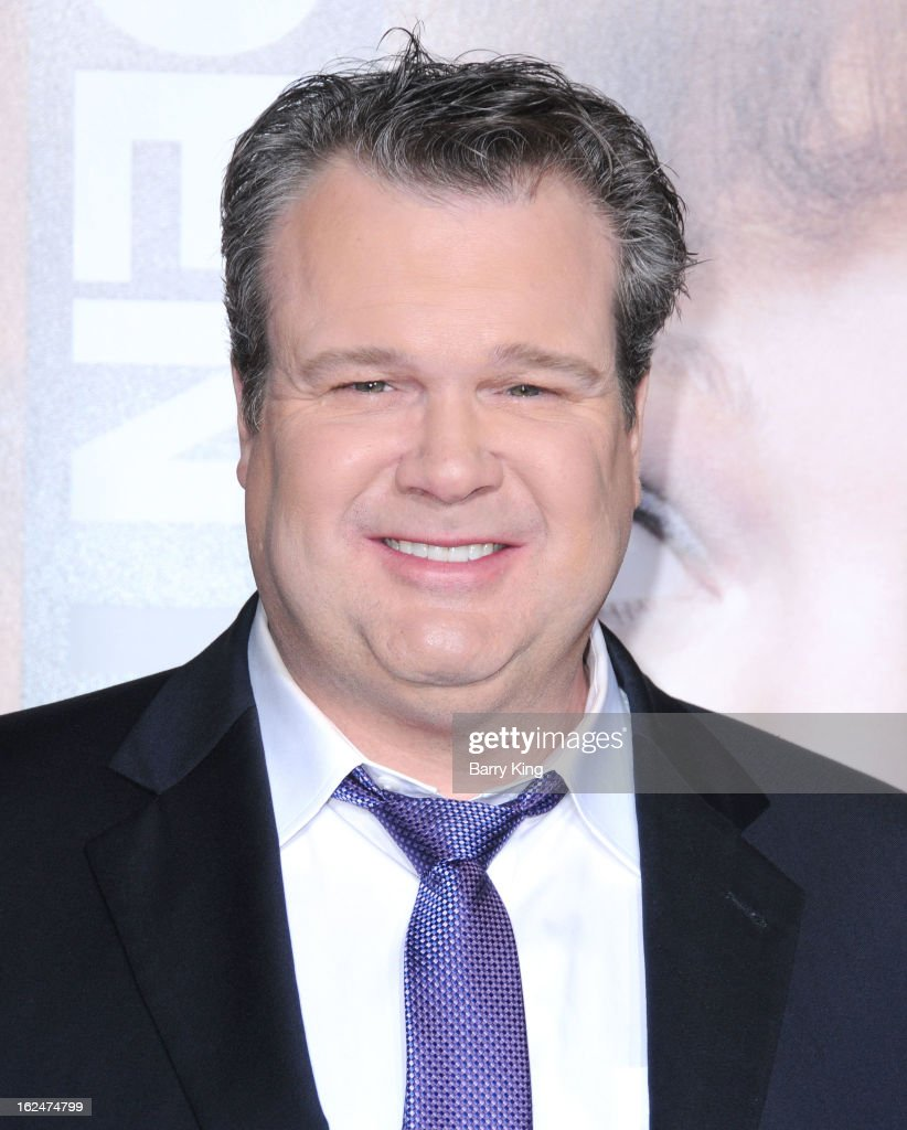 Actor <a gi-track='captionPersonalityLinkClicked' href=/galleries/search?phrase=Eric+Stonestreet&family=editorial&specificpeople=6129010 ng-click='$event.stopPropagation()'>Eric Stonestreet</a> arrives at the Los Angeles premiere of 'Identity Thief' held at Mann Village Theatre on February 4, 2013 in Westwood, California.