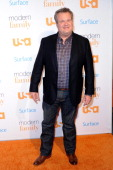 Actor Eric Stonestreet arrives at the 'Modern Family' Fan Appreciation Day hosted by USA Network at Westwood Village on October 28 2013 in Los...