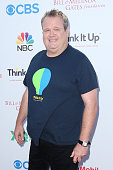 Actor Eric Stonestreet attends the Think It Up education initiative telecast for teachers and students hosted by Entertainment Industry Foundation at...