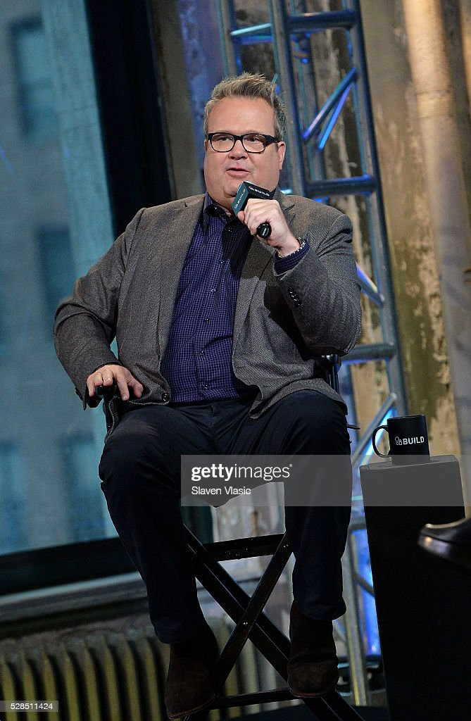 Actor Eric Stonestreet discusses the 'Ready. Raise. Rise.' campaign which he is a part of at AOL Build at AOL Studios In New York on May 5, 2016 in New York City.