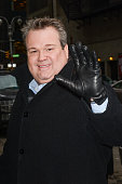 Actor Eric Stonestreet enters the 'Late Show With David Letterman' taping at the Ed Sullivan Theater on January 28 2014 in New York City