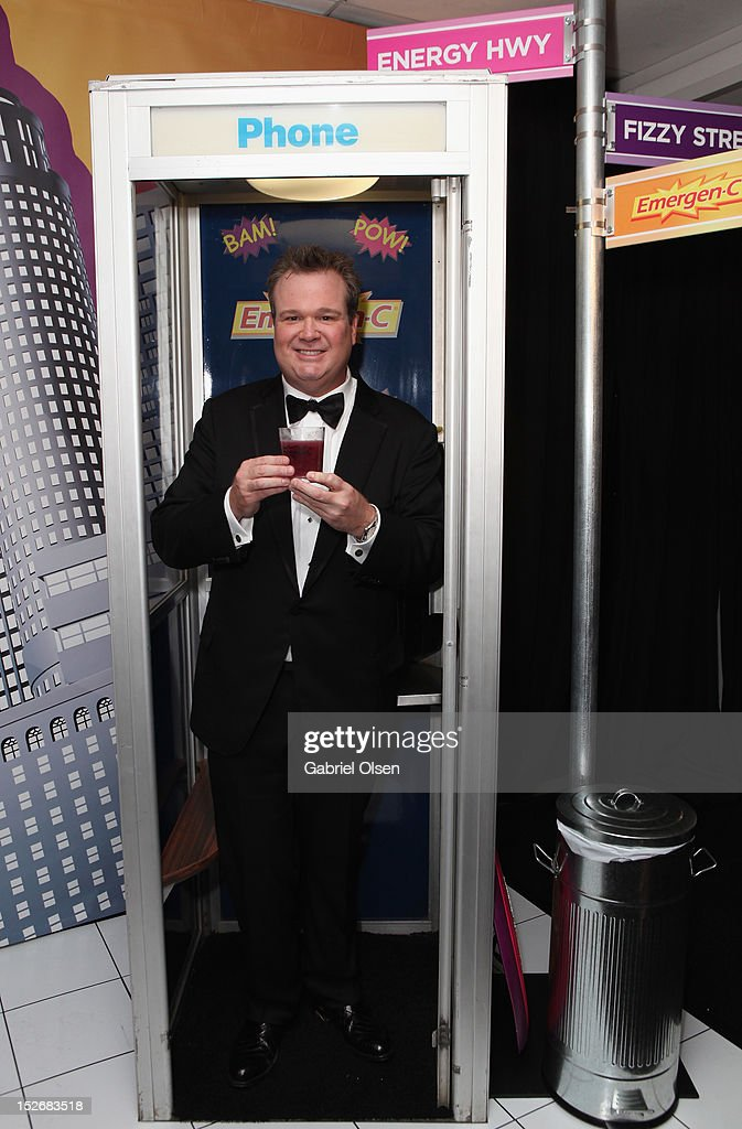Actor <a gi-track='captionPersonalityLinkClicked' href=/galleries/search?phrase=Eric+Stonestreet&family=editorial&specificpeople=6129010 ng-click='$event.stopPropagation()'>Eric Stonestreet</a> poses with Emergen-C in the Presenters Gift Lounge Backstage in celebration of the 64th Primetime Emmy Awards produced by On 3 Productions at Nokia Theatre L.A. Live on September 23, 2012 in Los Angeles, California.