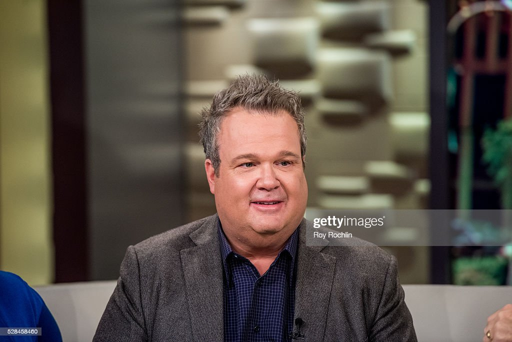 Actor Eric Stonestreet Visits 'Fox & Friends' at FOX Studios on May 5, 2016 in New York City.