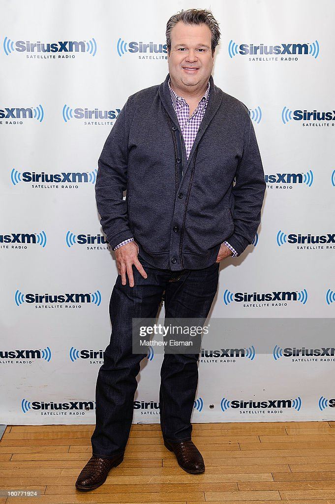 Actor <a gi-track='captionPersonalityLinkClicked' href=/galleries/search?phrase=Eric+Stonestreet&family=editorial&specificpeople=6129010 ng-click='$event.stopPropagation()'>Eric Stonestreet</a> visits SiriusXM Studios on February 5, 2013 in New York City.