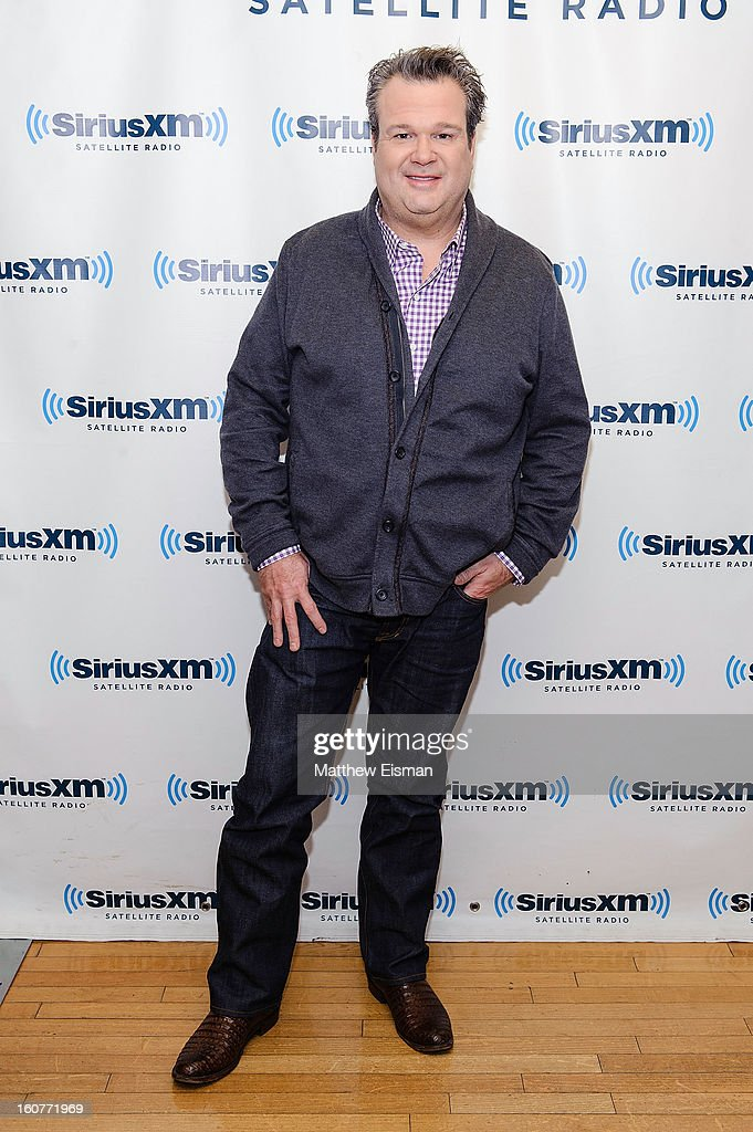 Actor Eric Stonestreet visits SiriusXM Studios on February 5, 2013 in New York City.