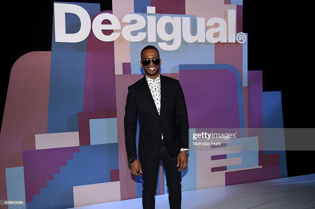 Actor <a gi-track='captionPersonalityLinkClicked' href=/galleries/search?phrase=Eric+West&family=editorial&specificpeople=2580988 ng-click='$event.stopPropagation()'>Eric West</a> attends Desigual fashion show during Fall 2016 New York Fashion Week: The Shows at The Arc, Skylight at Moynihan Station on February 11, 2016 in New York City.