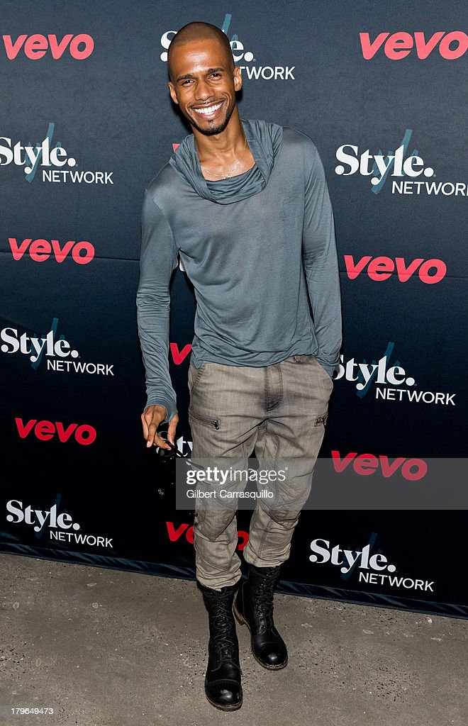 Actor Eric West attends Style Network's 'Style To Rock' Event at Skylight Modern on September 5 2013 in New York City