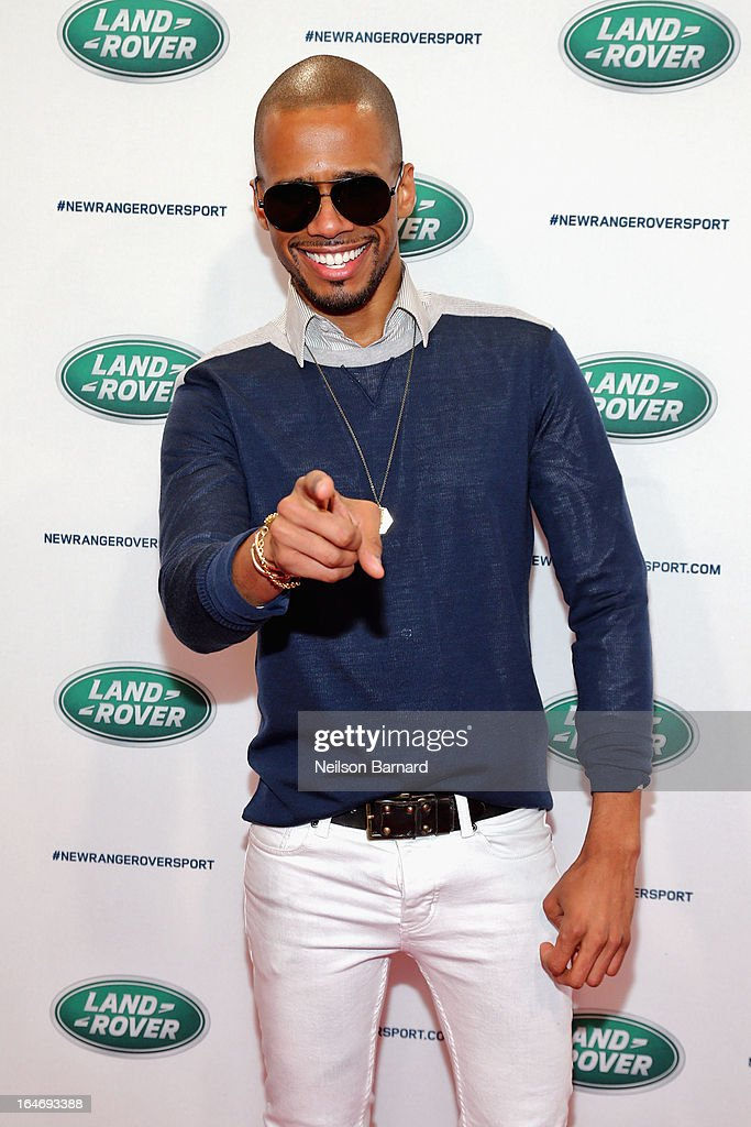Actor Eric West attends the all-new Range Rover Sport reveal on March 26, 2013 in New York City.
