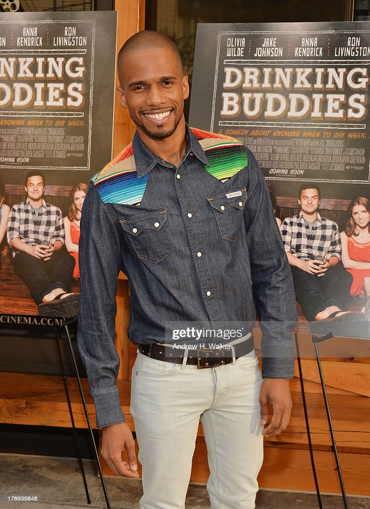 Actor Eric West attends the 'Drinking Buddies' screening at Nitehawk Cinema on August 19, 2013 in the Brooklyn borough of New York City.