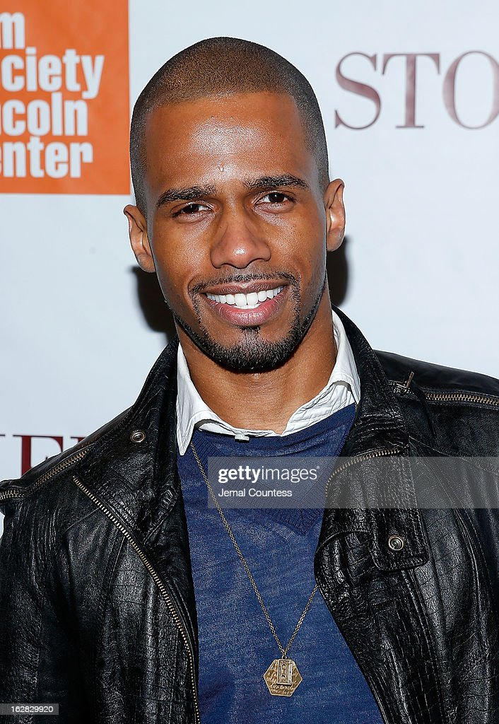 Actor Eric West attends the 'Stoker' New York Screening at The Film Society of Lincoln Center Walter Reade Theatre on February 27 2013 in New York...