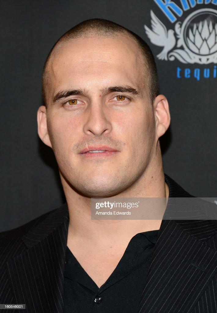 Actor Erik Aude arrives at the Los Angeles Premiere of 'The Devil's Dozen' at Mann's Chinese 6 Theatres on February 1, 2013 in Hollywood, California.