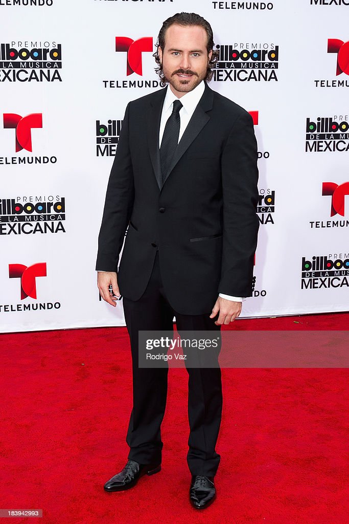 Actor Erik Hayser attends the 2013 Billboard Mexican Music Awards arrivals at Dolby Theatre on October 9, 2013 in Hollywood, California.