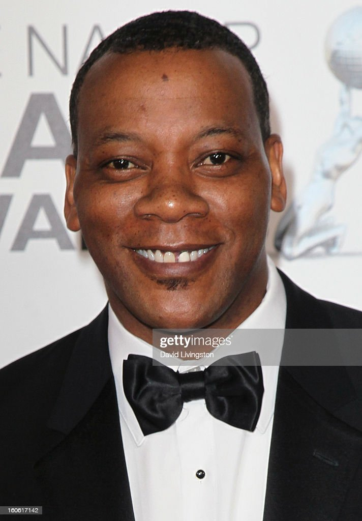 Actor Erik LaRay Harvey attends the 44th NAACP Image Awards at the Shrine Auditorium on February 1, 2013 in Los Angeles, California.